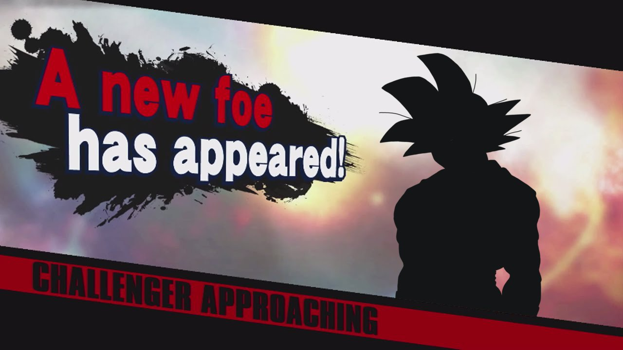 Goku in Smash Meme