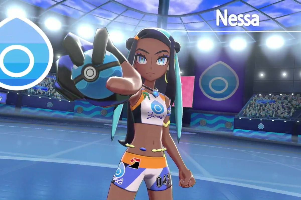Sword and Shield Nessa